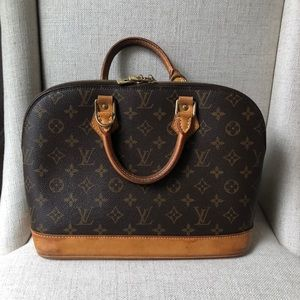 Preowned Louis Vuitton monogram leather Hand Bag